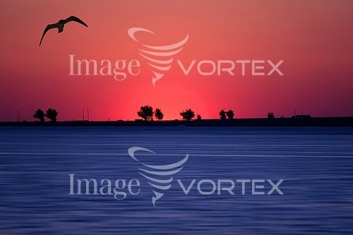 Sunset / sunrise royalty free stock image #173417224