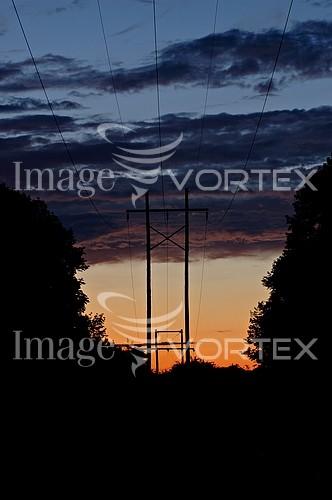 Sunset / sunrise royalty free stock image #199647300