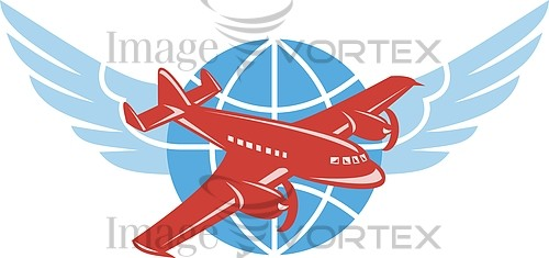 Airplane royalty free stock image #430622013