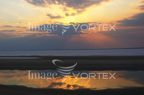 Sunset / sunrise royalty free stock image #542336064