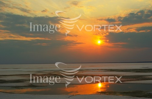 Sunset / sunrise royalty free stock image #542354162