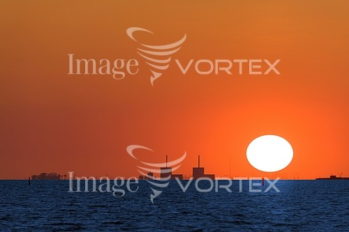 Sunset / sunrise royalty free stock image #549371083