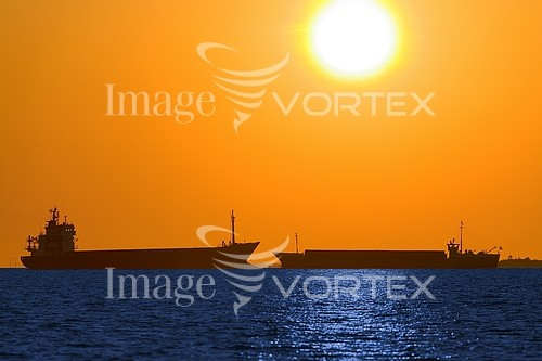 Sunset / sunrise royalty free stock image #550116357