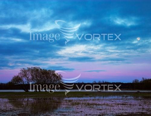 Sunset / sunrise royalty free stock image #587519183