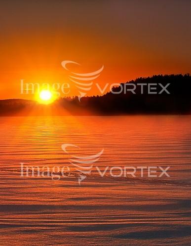 Sunset / sunrise royalty free stock image #610139332