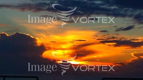 Sunset / sunrise royalty free stock image #782923094
