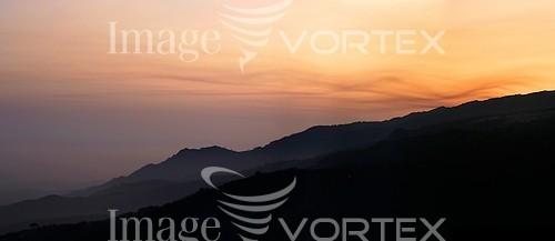 Sunset / sunrise royalty free stock image #792188962