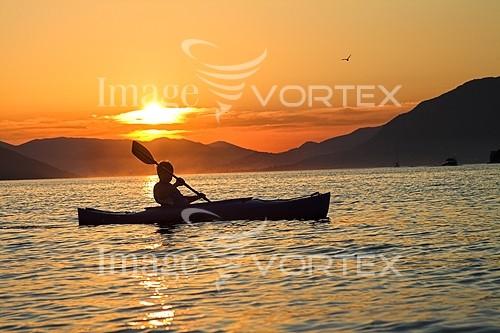 Sunset / sunrise royalty free stock image #796201230
