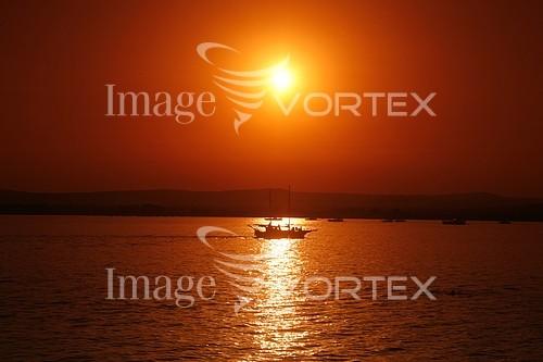 Sunset / sunrise royalty free stock image #797964033