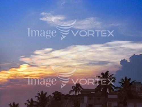 Sunset / sunrise royalty free stock image #886963187