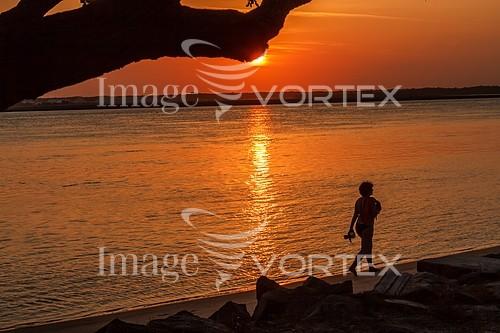 Sunset / sunrise royalty free stock image #895166696