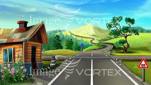 Car / road royalty free stock image #896948731