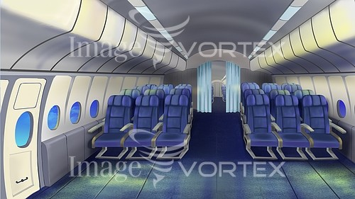 Airplane royalty free stock image #898305877
