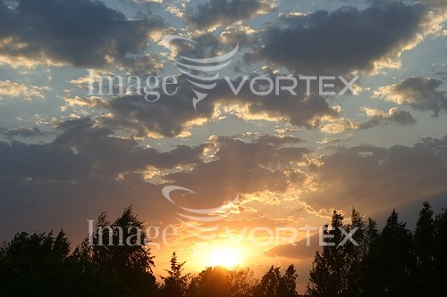 Sunset / sunrise royalty free stock image #944912297