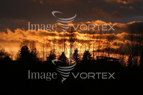 Sunset / sunrise royalty free stock image #944937095