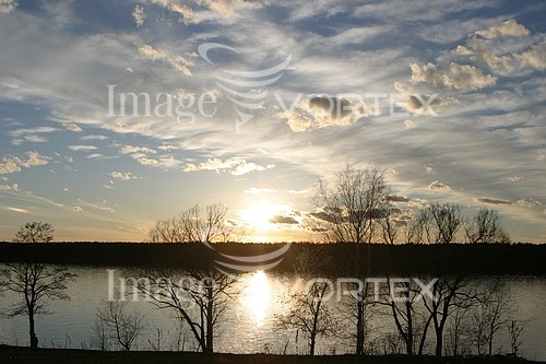 Sunset / sunrise royalty free stock image #944927366