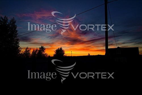 Sunset / sunrise royalty free stock image #984957444