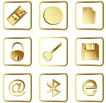 Icon royalty free stock image - click to enlarge