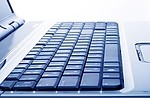 Laptop royalty free stock image - click to enlarge