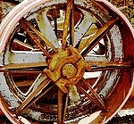 Wheel royalty free stock image - click to enlarge