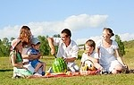 Picnic royalty free stock image - click to enlarge