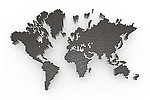 World / map royalty free stock image - click to enlarge
