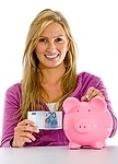 Savings royalty free stock image - click to enlarge
