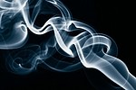 Smoke royalty free stock image - click to enlarge
