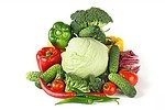 Vegetarian royalty free stock image - click to enlarge