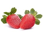 Strawberries royalty free stock image - click to enlarge