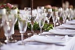 Banquet royalty free stock image - click to enlarge