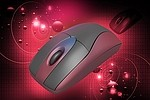 Computer / mouse royalty free stock image - click to enlarge