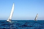 Sailing royalty free stock image - click to enlarge