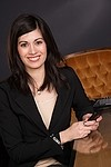 Business / woman royalty free stock image - click to enlarge