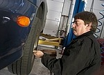 Automotive / technician royalty free stock image - click to enlarge