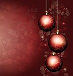 Christmas / ball royalty free stock image - click to enlarge