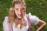 Oktoberfest / costumes royalty free stock image - click to enlarge